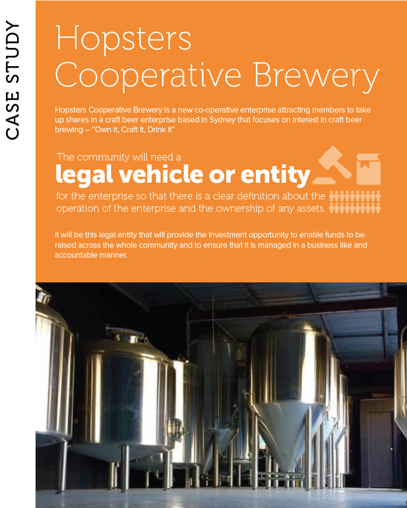 Hopsters Cooperative Brewery